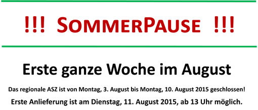 SommerPause 2015